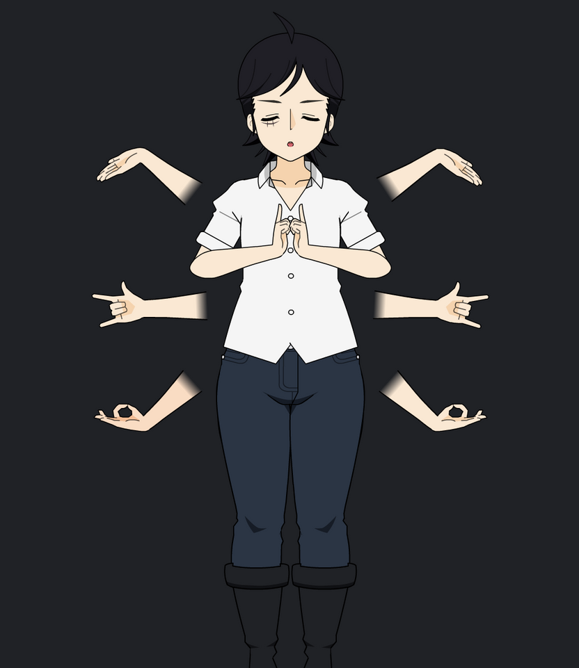 Spirit Hands by Manpersonguy