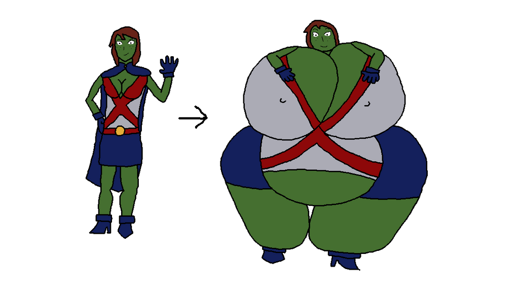 Massive Miss Martian by Manpersonguy