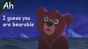 bear... get it? ...BEARS by GlitchyJelly