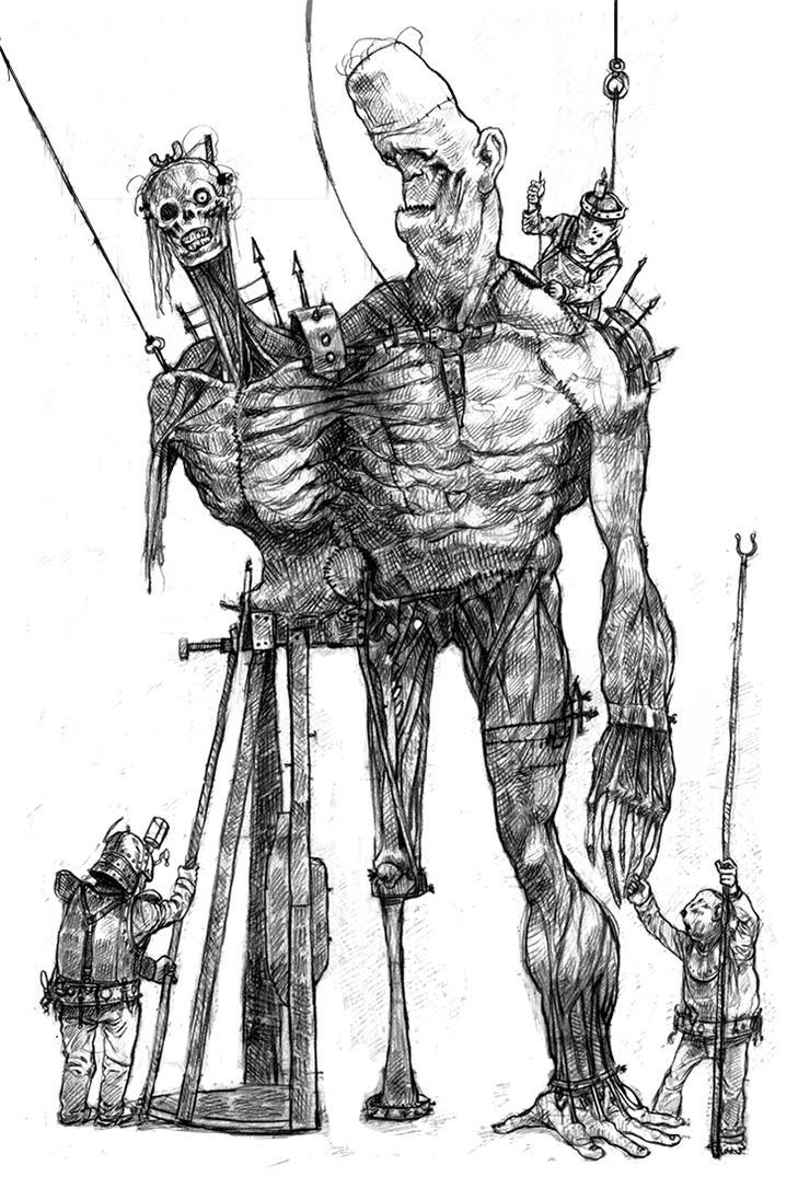 Criaturaproceso by DavidGau