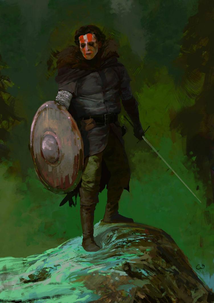 concept for warrior by DavidGau