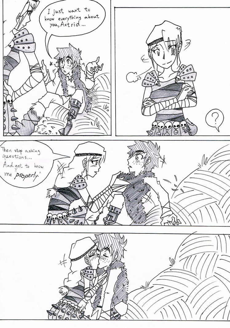 hiccup and astrid meet fanfic