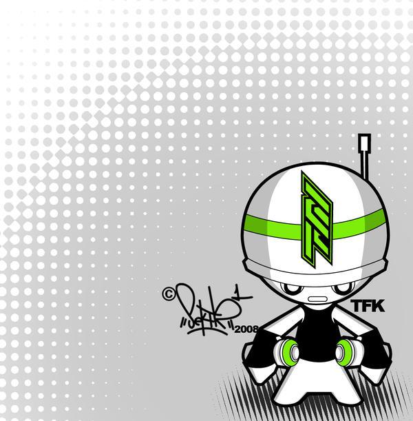 TFK graff-troop chibi concept by SektrOne