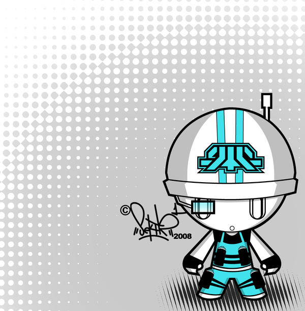 aqua graff-troop chibi by SektrOne