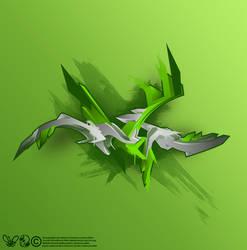 green stroke by SektrOne