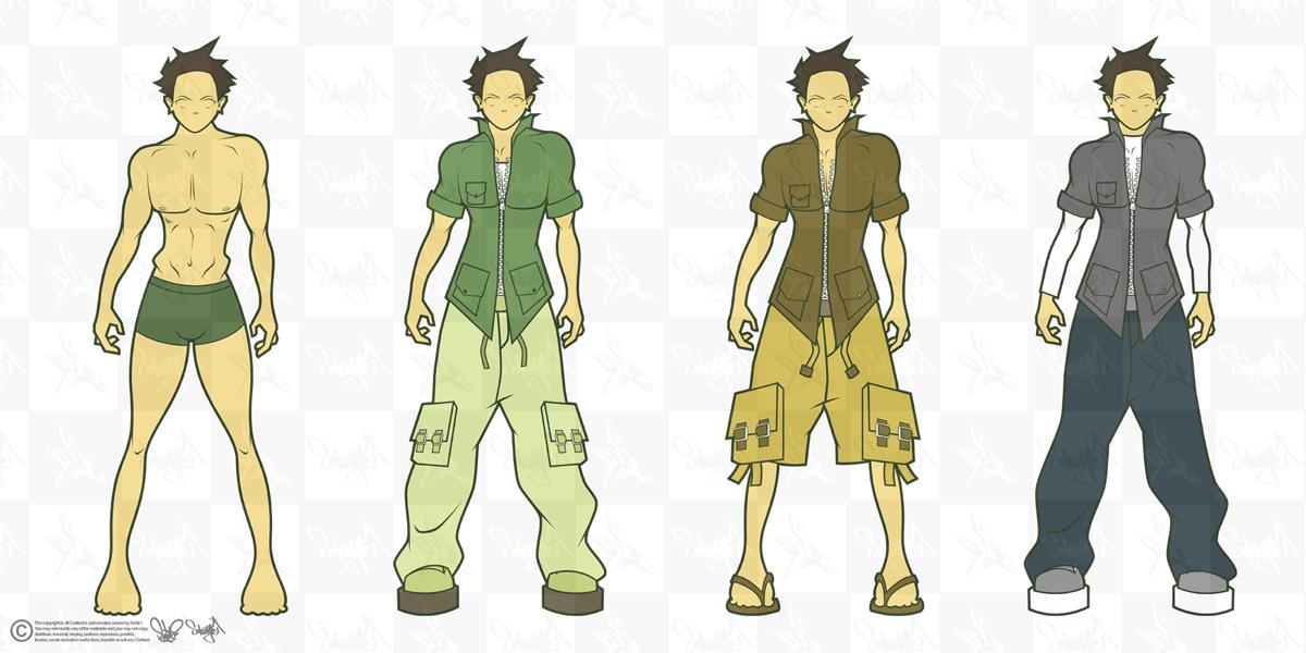Design Prototypes -men- by SektrOne