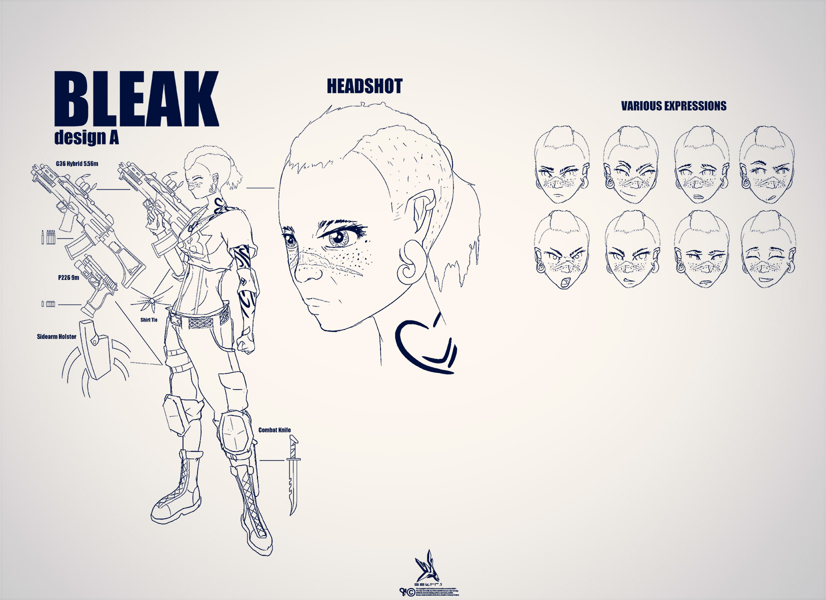 BLEAK reDes.V1 by SektrOne