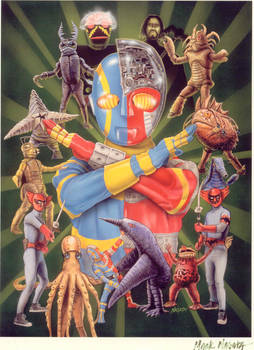 WORLD OF KIKAIDER