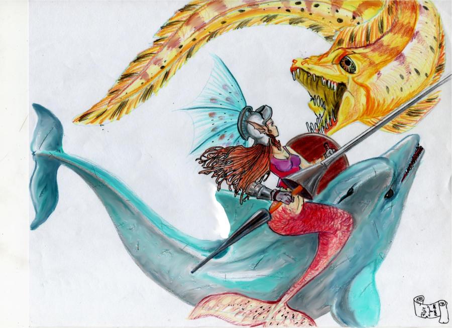 la sirena amazona by sevenquest