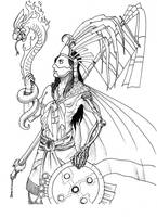 Huitzilopochtli by sevenquest