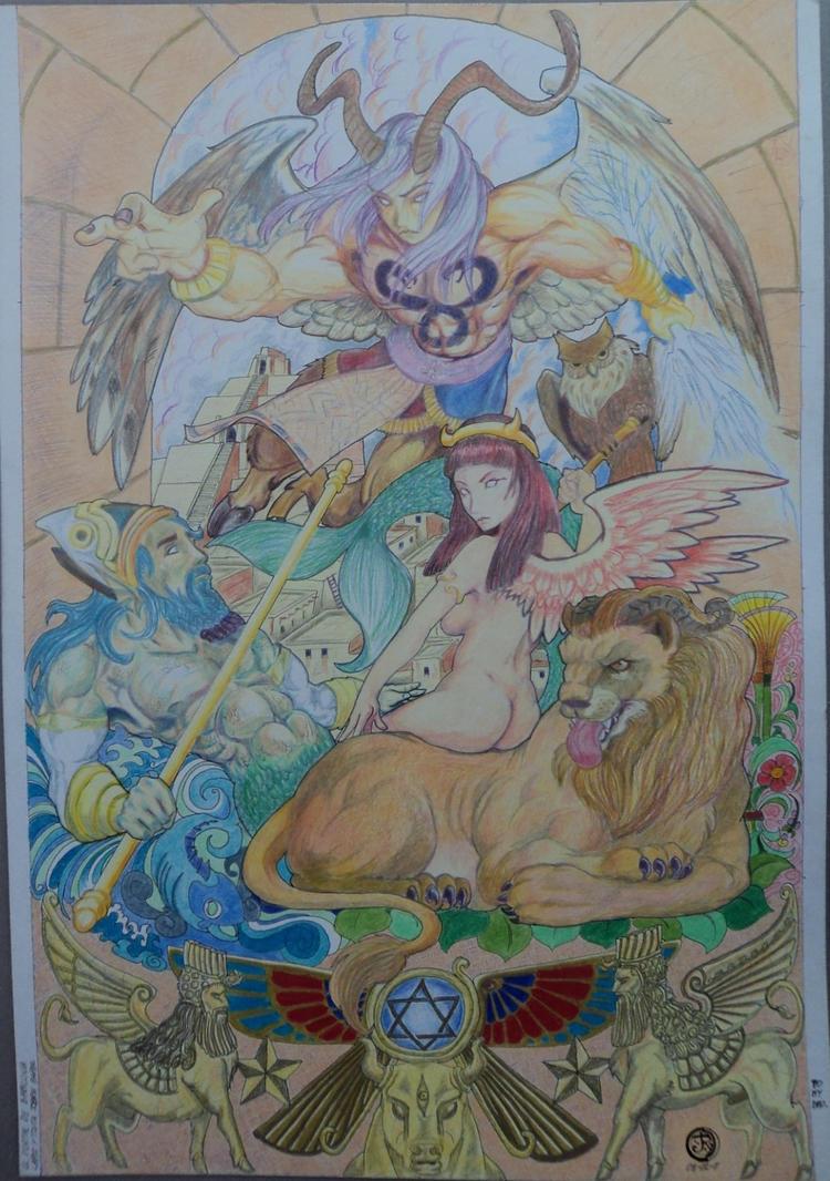 El portal de Babilonia. by sevenquest