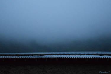 Brume au-dela du toit / Fog beyond the roof by Zandrine-C