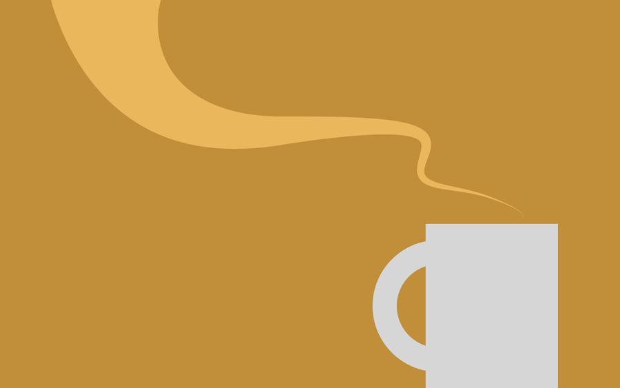 Cafe Wallpaper Minimalista by manuvergara on DeviantArt