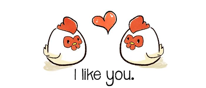 I like u as my Harvest Moon Chickens by manuvergara
