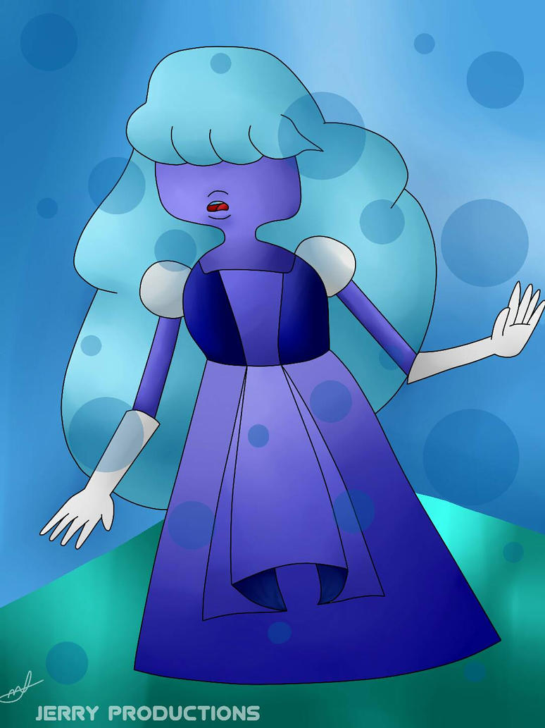 Sapphire (Steven Universe) by JERRY-PRODUCTIONS56