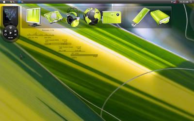 green desktop by whattoput