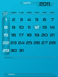 a calendar by whattoput