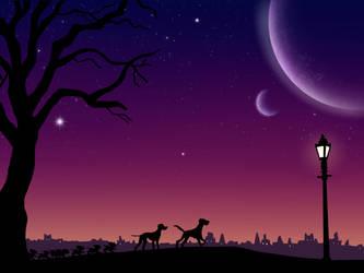 The Twilight Bark by TessasART94