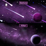 The Velvet Dream- Before and After