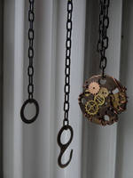 Steampunk pendant necklace by Hiddendemon-666
