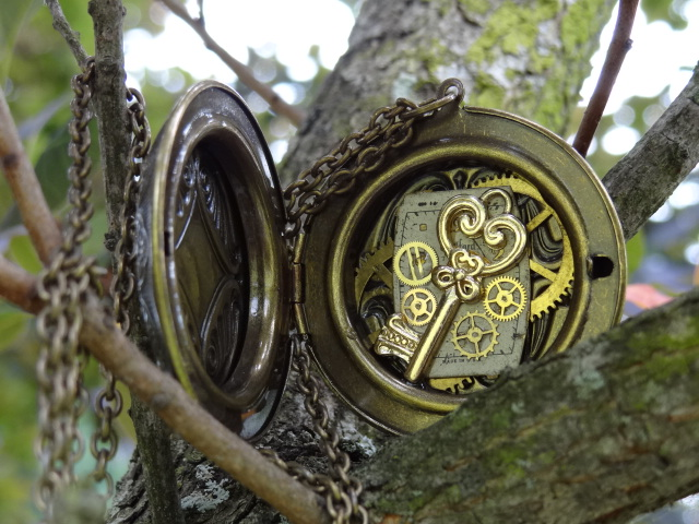 Steampunk locket III by Hiddendemon-666