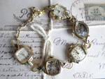 Steampunk vintage bracelet