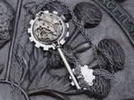 Steampunk Silver Dream Key