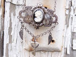 Steampunk Cameo Necklace