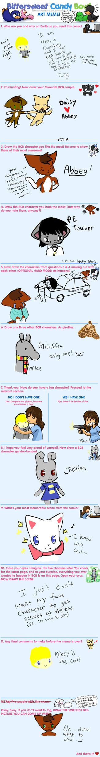 BCB Art Meme by SilverKorat