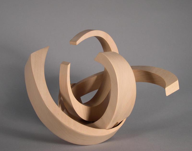 simple wood sculpture