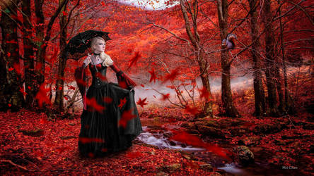 Red Gothic Girl