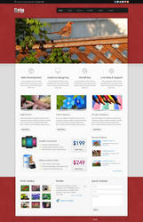 Grip Corporate Business HTML Template by Ch-Anjum