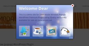 Simp Modal Window A WordPress Popup Plugin