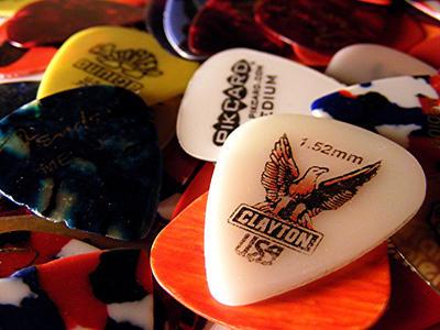 Guitar Picks By Pumpkinhead8