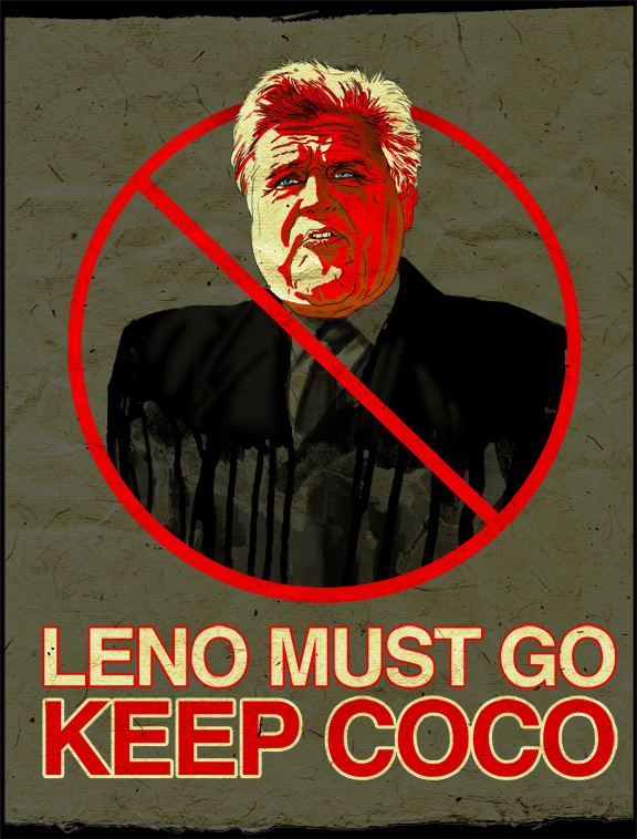 Leno Must Go, Keep Coco by jeff-aka-stray