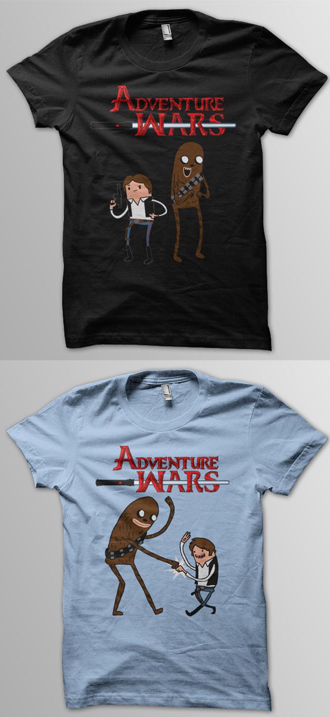Adventure Wars shirt at Redbub by jeff-aka-stray