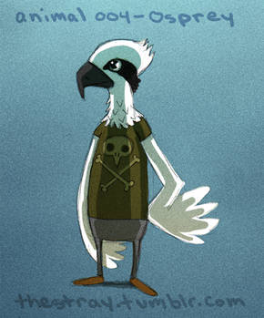 Daily Critter 004 of 365 Osprey