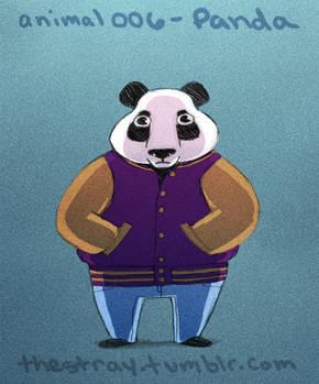 Daily Critter 006 of 365 Panda