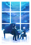 The Song for Everlasting Night by penguin-pinpin