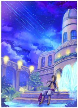 Commission - Night of Shooting Stars