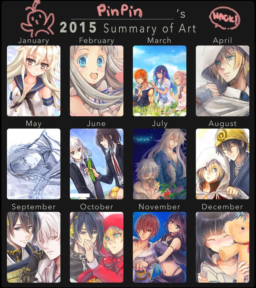 2015 Art Summary by penguin-pinpin