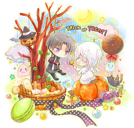 Tourabu - Trick or Treat! by penguin-pinpin