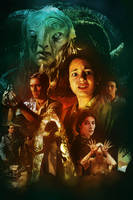 pan's labyrinth movie poster by Dr3amtracerCc