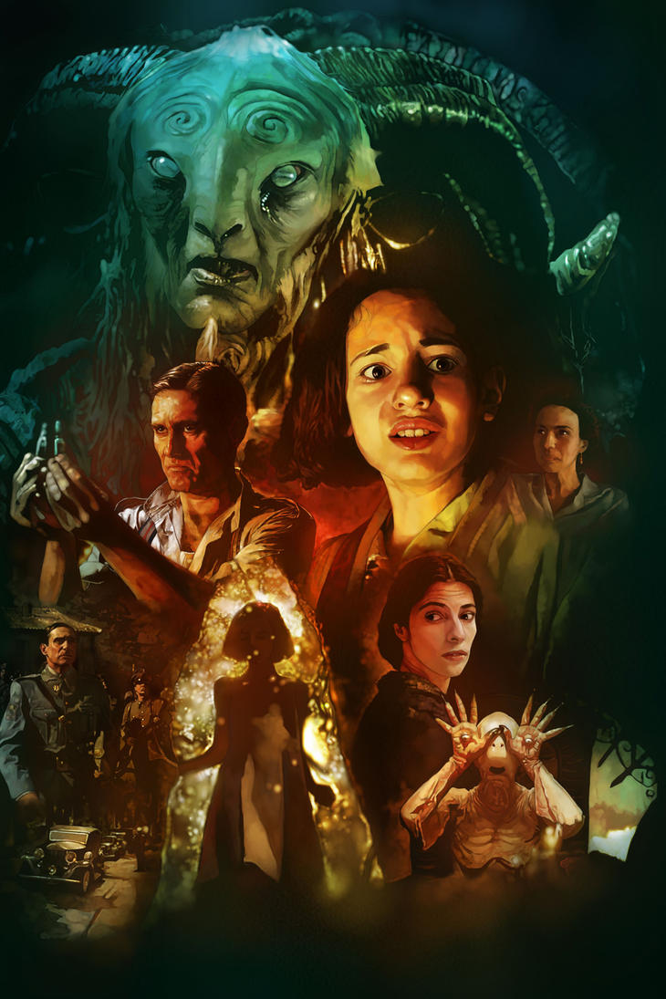 pan s labyrinth movie poster by dr3amtracercc on deviantart