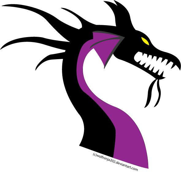 maleficent dragon vector by ceruleaninquisition on deviantart
