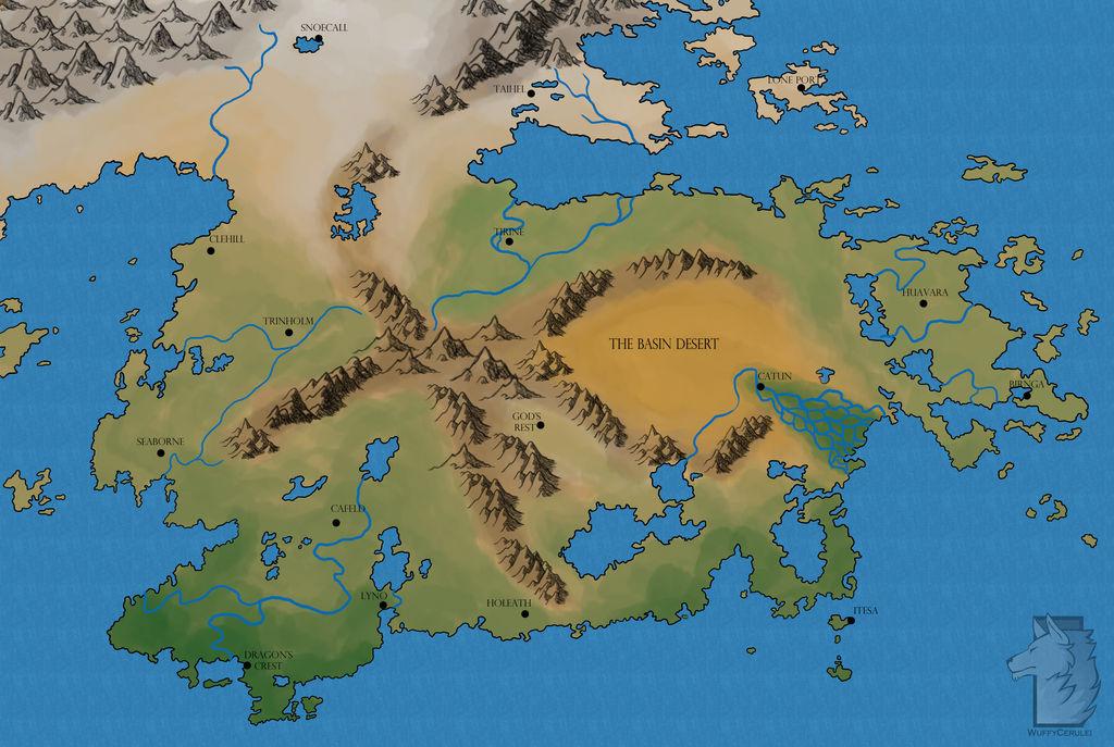Vridath Map by Wuffy-Cerulei