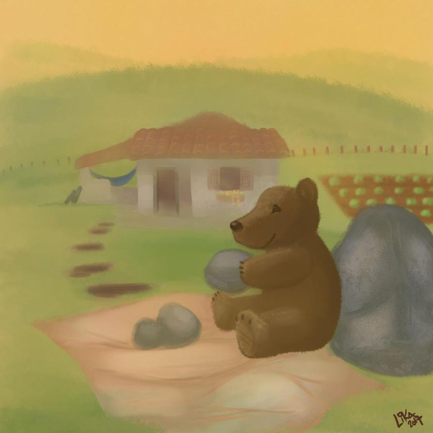 Baby bear by Lika2009