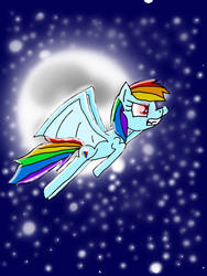Element of loyalty (Rainbow Dash-as a bat pony) by 2055879