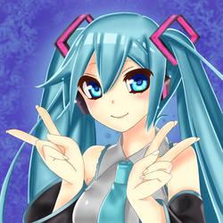 Vocaloid - Hatsune Miku Fanart