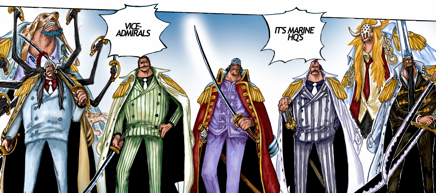 Vice-Admirals by Bubumeister on DeviantArt